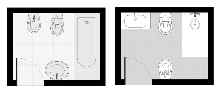 planta remodelação casa de banho