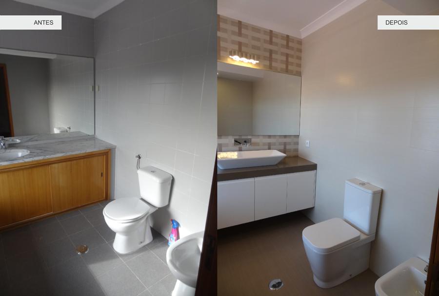 antes & depois - renovacao wc sanindusa