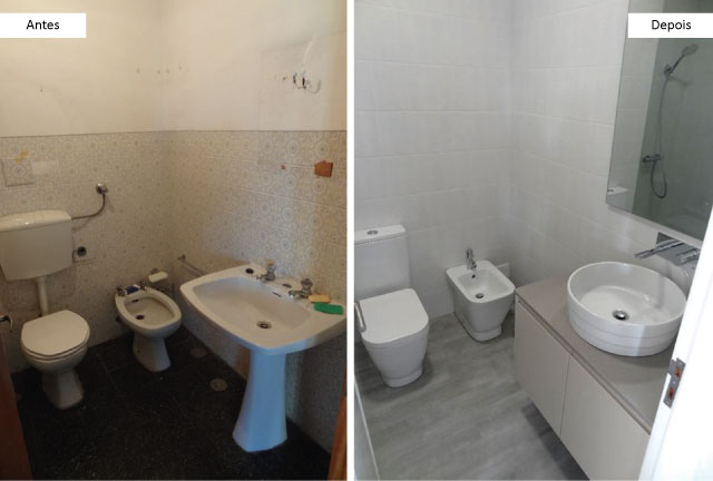 Antes & Depois - Happy Ideas at Home
